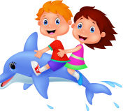 stock-illustration-41508766-cartoon-boy-and-girl-riding-a-dolphin